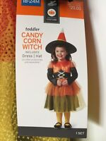 Toddler Candy Corn Witch Halloween Costume Dress Up Baby Girls 18-24 Months