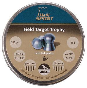 H-amp-N-Field-Target-Trophy-20-Air-Rifle-Gun-Pellets-500-Tin-HFT-Target-Shooting