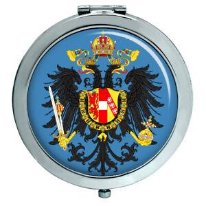 Österreichisch Lesser Wappen 1867-1915 Kompakter Spiegel