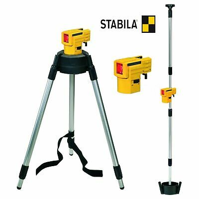 Volitivo Livella Laser Linee Incrociate Su Treppiede Stabila Lax 50 Fino A 10 Mt Prezzo Basso