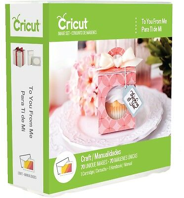 Cricut to You From Me Cartridge 2003225 #56