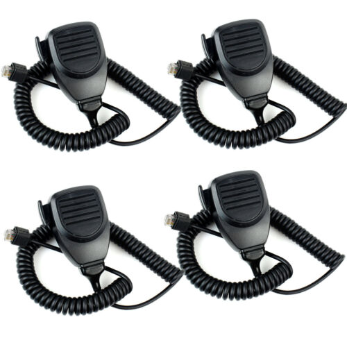 4Pcs 8Pin Mic Microphone for Kenwood KMC-30 TK768G TK-760 TK-768 Mobile Radios