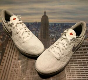 Enjuiciar debate Bisagra  Nike iD LunarEpic Flyknit Canada White/Grey-Silver Size 12 864956 992 New |  eBay