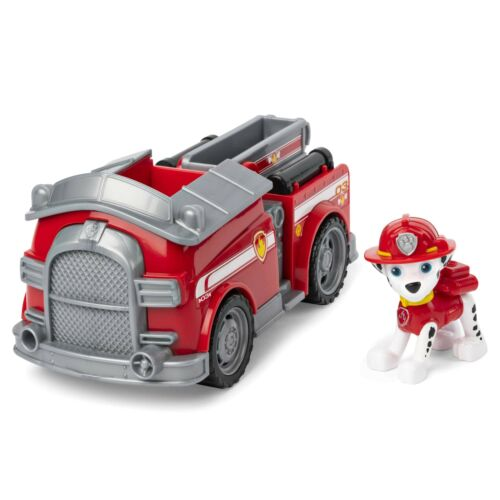 Paw Patrol 6054135 Marshall Fire Engine véhicule avec Collectible Figure