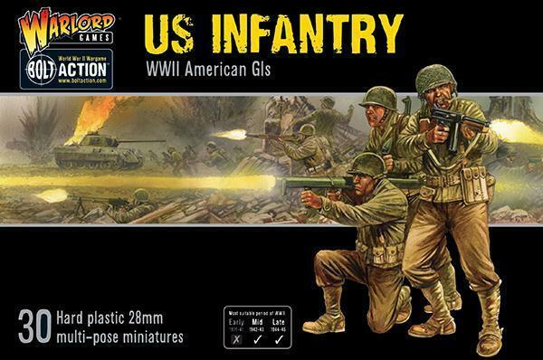 Warlord Games Bolt Action US Infantry - WWII American GIS