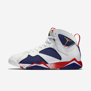 259f2ee3d94b84 Nike Air Jordan 7 Retro Tinker Alternate Olympic Gold USA 304775 123 ...