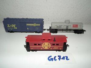 Life-Like-Trains-H0-US-Gueterwagen-auch-fuer-Fleischmann-Roco-Piko-Lima-GC712