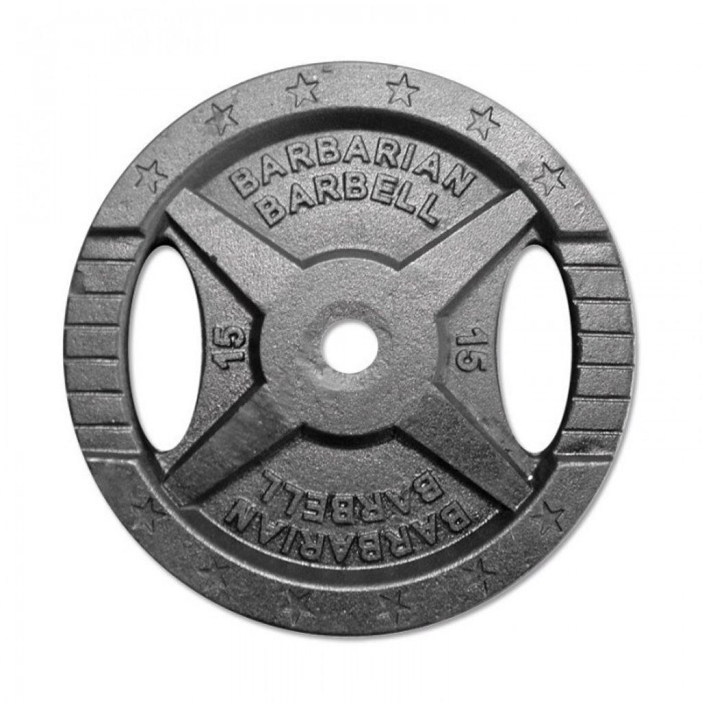 Barbarian Barbell Hantelscheiben Guss 30mm - 15kg