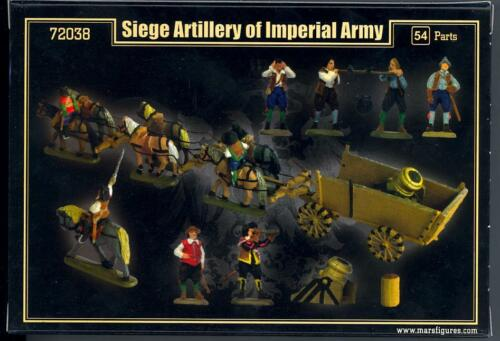 Mars Figures 1//72 SIEGE ARTILLERY OF IMPERIAL ARMY Thirty Years War Figure Set