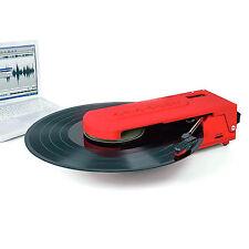New CROSLEY REVOLUTION PORTABLE RECORD PLAYER USB ENCODING HEADPHONE JACK RRP$99