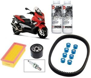 Pack-Revision-Courroie-Filtre-air-huile-Bougie-Ipone-Gilera-Nexus-500-06-12