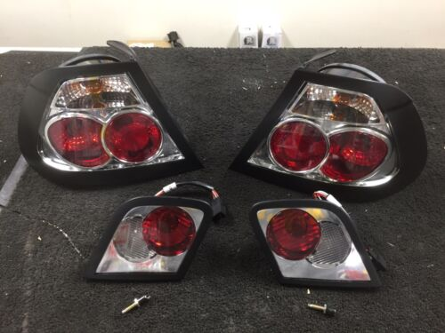 FOR BMW E46 COUPE 1999-2003 TAIL LIGHT LEXUS STYLE REAR TAIL LIGHTS PAIR