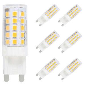 Details zu 6X G9 LED Lampe Leuchtmittel,5W Ersatz für 40W Halogen Lampen Warmweiß 3000K