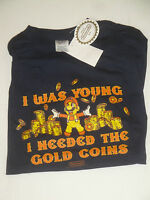 Nintendo Nes Super Mario Bros Shirt I Was Young I Needed The Gold Coins Official