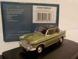Model-Car-Sunbeam-Rapier-mk2-Green-1-76-New