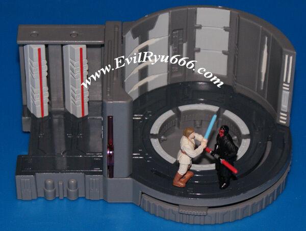 Star wars 8 mini - szenen   aktion flotte generator kern duell im + obi - wan