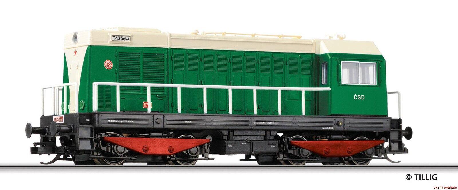 TT Diesel T 435 CSD EP. III III III Tillig 02626 NUOVO  f6b2dd