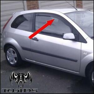 Deflettori Aria Antiturbo Oscurati per Ford Fiesta 3 Porte 2002
