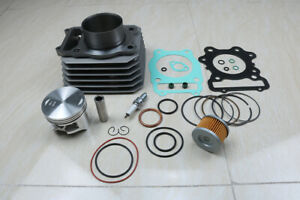 NEW QUALITY Cylinder Top End Rebuild Kit for the 1988-2000 Honda TRX 300 Fourtrax FW 4x4 /& 2x4 four-wheelers