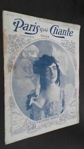 Revista Semanal Dibujada París Que Canta N º 167 AVRIL1906 ABE