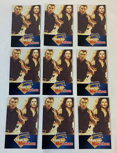 lot-of-nine-1998-Blockbuster-promo-cards-PEACEMAKER-George-Clooney