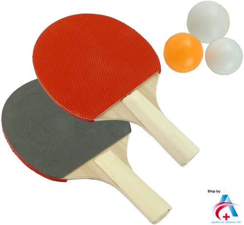 Tennis de Table Ping Pong Set-Les chauves-souris et boules Set