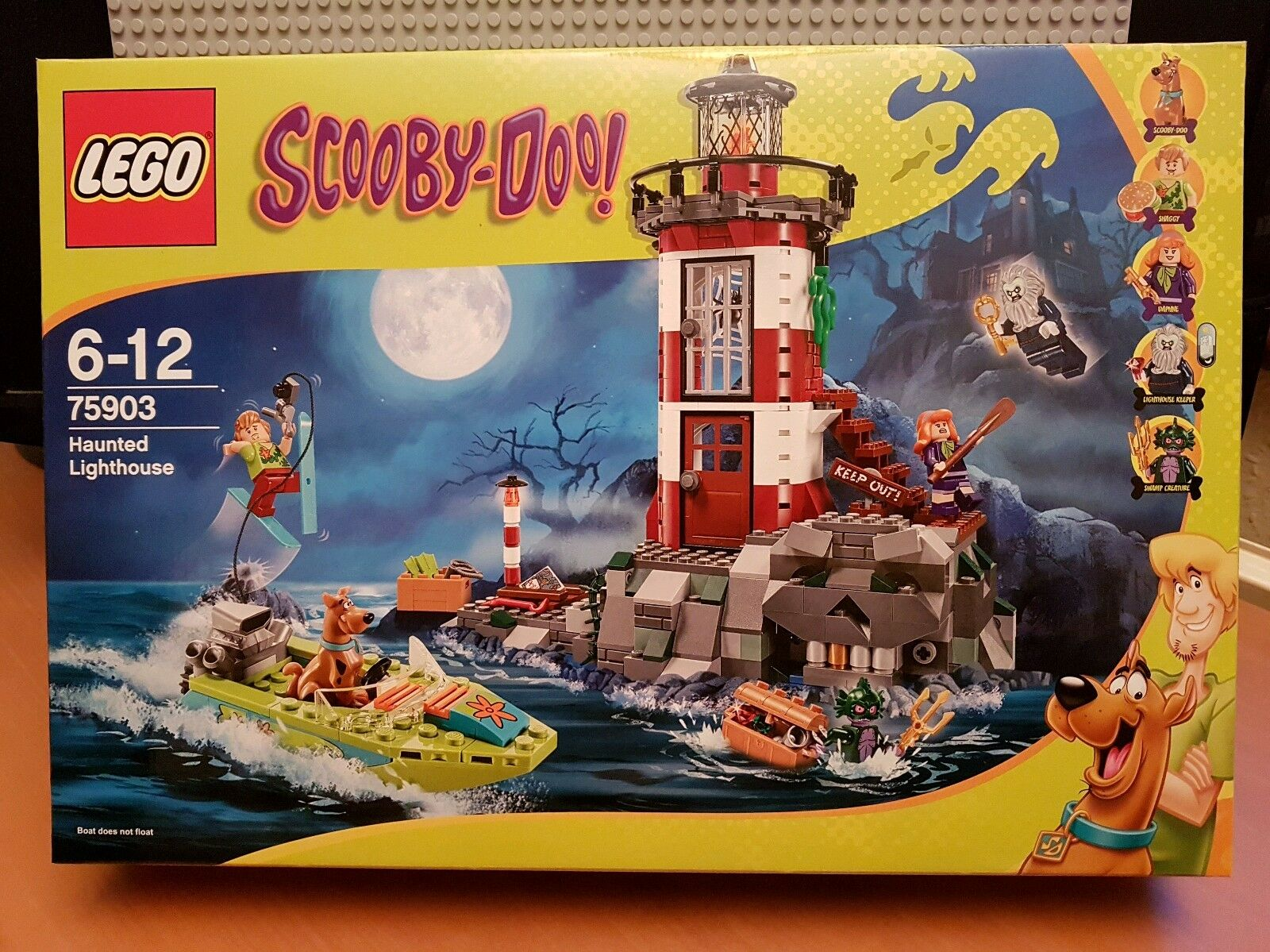 Lego SCOOBY DOO 75903 Haunted Lighthouse New ✔ Scellé ✔ Fast p&p ✔ Joliment Emballé ✔✔