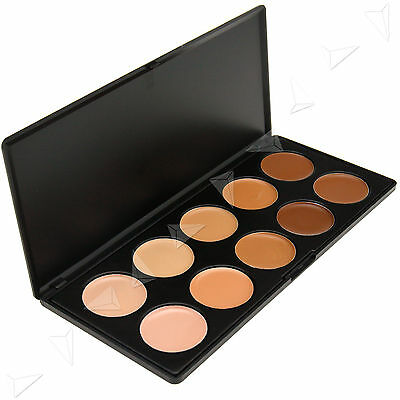 Professional 10 Coluor Concealer and Contour Cream Palette Makeup up Palette