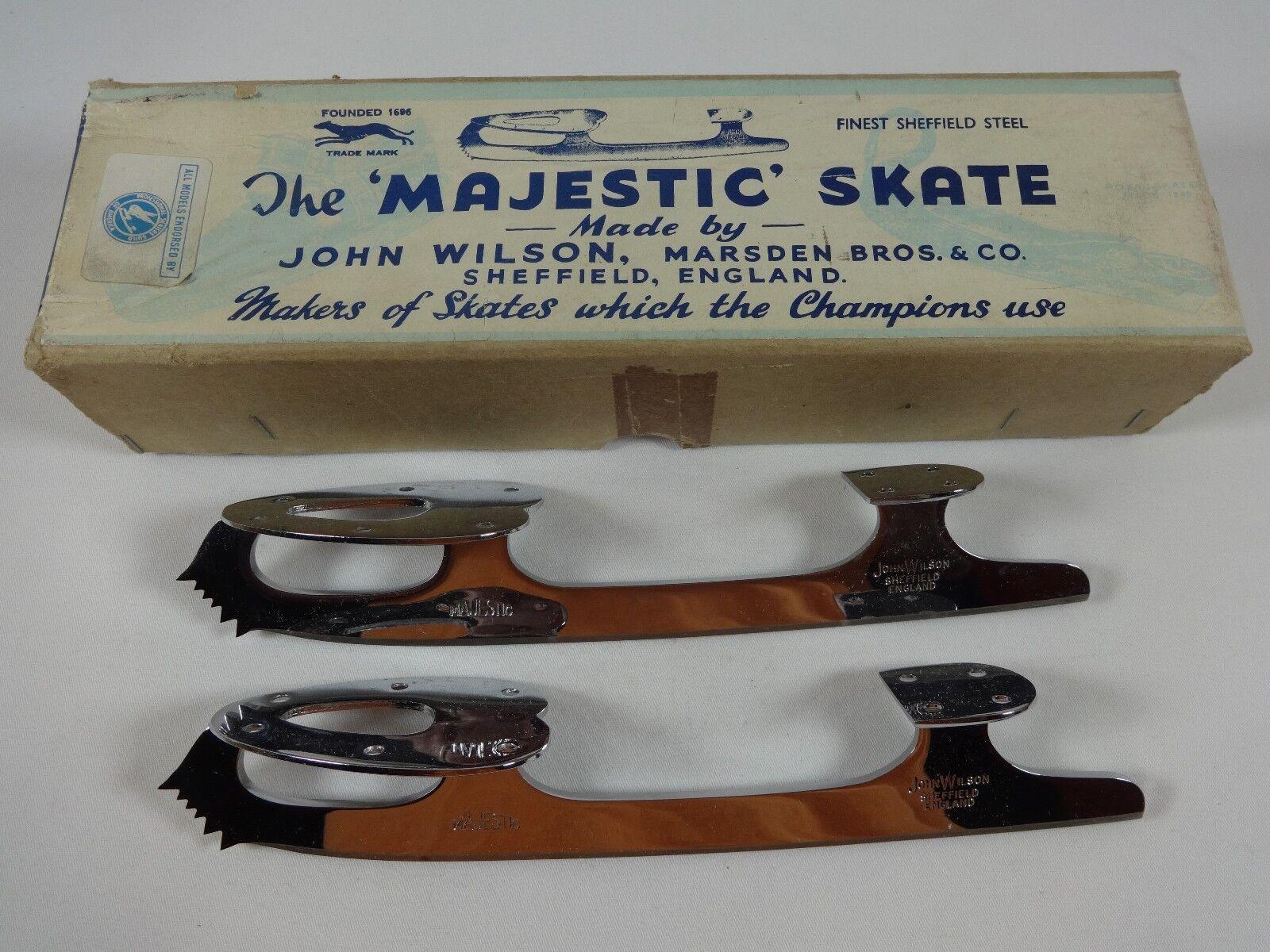 John Wilson Majestic Blades Compulsory Figures Ice Skating