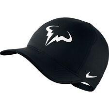 Gorra Nike Rafa Featherlight-Negro-Nadal-a estrenar con las etiquetas