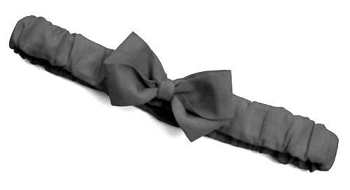 : : tailles disponibles de nouveaux-nés pour adulte smokey gris à volants serre-tête noeud