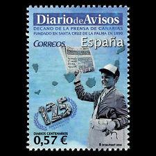 "Spain 2016 - Newspapers ""The 125th Anniversary of Diario de Avisos"" - MNH"