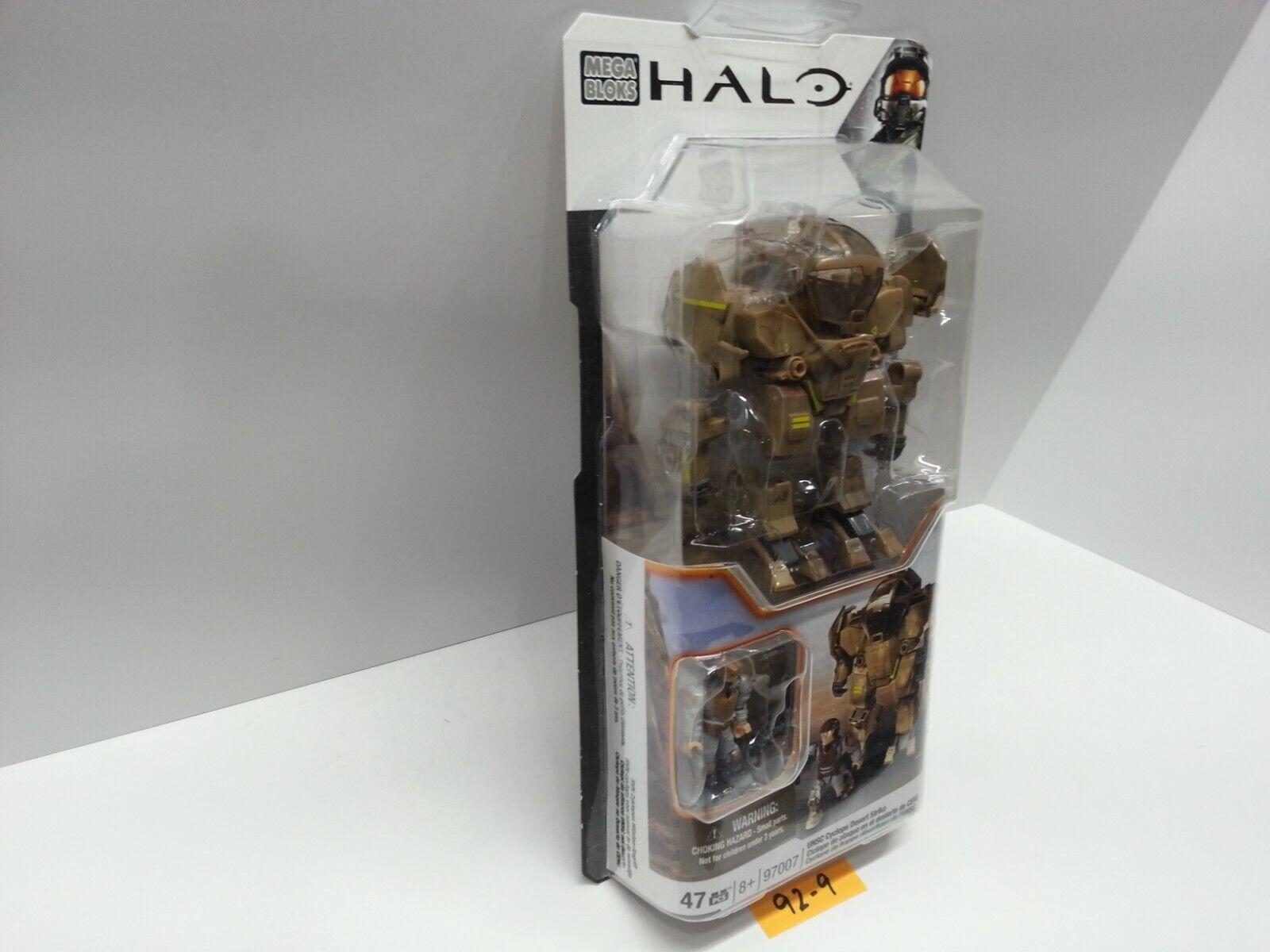 HALO Mega Bloks 97007 - UNSC Cyclops Desert Strike Strike Strike - BRAND NEW & SEALED 6a28fb