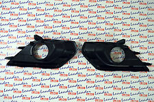 GENUINE Vauxhall CORSA E - PAIR OF FRONT FOG LIGHT SURROUNDS GRILL / GRILLE -NEW