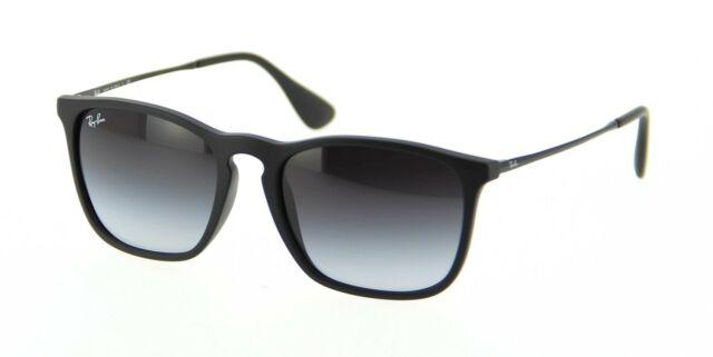 Ray Ban Unisex Rb 4187 Chris 899 8g Rubber Transparent Blue Plastic Sunglasses For Sale Online Ebay