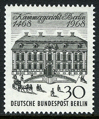 Court Of Appeal 500th Anniv Old Court Building,1968 Relieving Heat And Sunstroke Strong-Willed Germany-berlin 9n265 Mnh