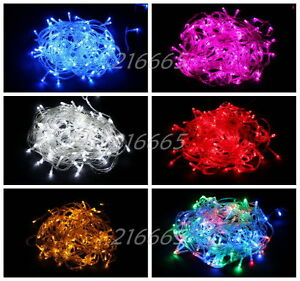100-200-300-LED-Christmas-Party-Wedding-String-Fairy-Tree-Lights-10M-20M-30M