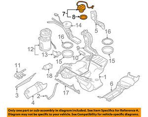 audi oem 05 08 a4 quattro fuel tank filler gas cap 4f0201550j ebay rh ebay com Bottom of Tank Car Valve Diagram Fuel Tank Electrical Diagram