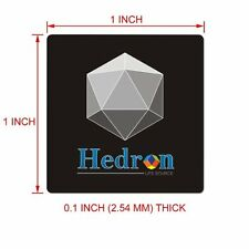 Hedron EMF EMR Body Shield Sticker radiation protection shungite device anti
