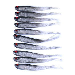 10stk-10cm-3-6g-Bionic-Life-like-Weichen-Fischkoeder-Fischkoeder-Werkzeug-Angel
