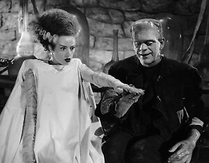 1935 THE BRIDE OF FRANKENSTEIN BLACK AND WHITE 8x10 classic PHOTO 4A !!!