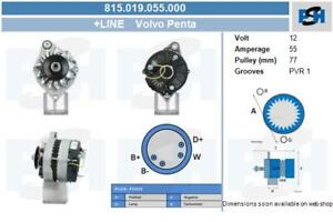815019055000 0120400778 2541451 Lichtmaschine Volvo Penta Neu 60A 12 V