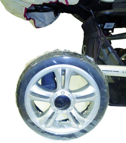 4 Radschutz für Kinderwagen  Reifentaschen Schutzhüllen Kinderwagenräder-14 Zoll