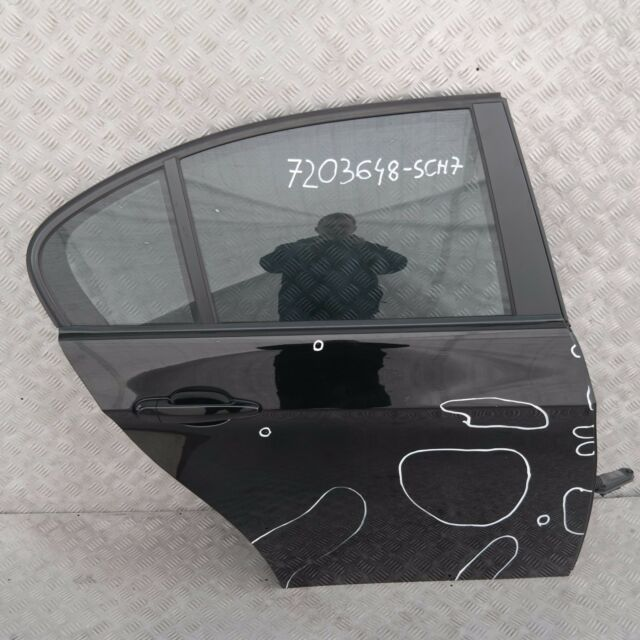 BMW 3 SERIES 7 E90 E90N LCi Door Rear Right O/S Black Schwarz 2 - 668