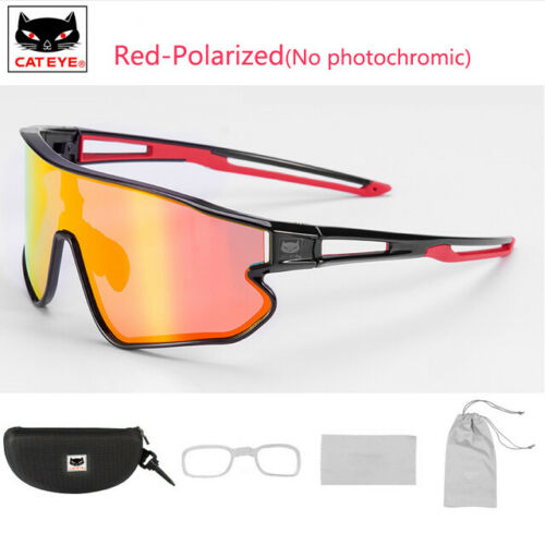 CATEYE Polarized//Photochromic Sunglasses Cycling UV400 Goggles Eyewear New