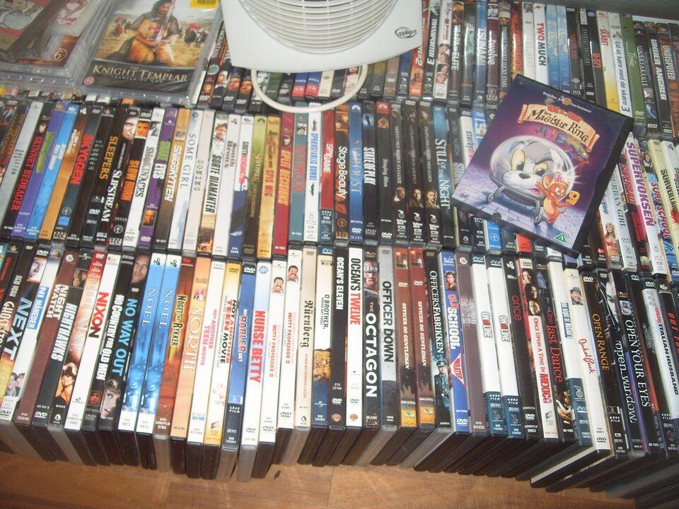 DVD'er sælges, DVD, action