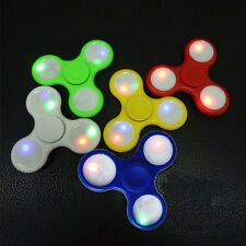 JOBLOT WHOLESALE Fidget LED Spinner Hand Finger Bar Pocket Desk Focus LOT OF 30