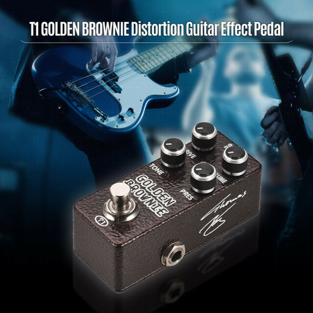 aroma blues distortion guitar effect pedal blue true bypass gift ship r4t2 for sale online ebay. Black Bedroom Furniture Sets. Home Design Ideas
