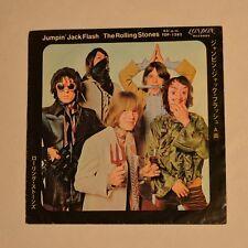 "ROLLING STONES - Jumpin' jack flash - 1968 JAPAN 7"" SINGLE"