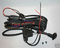 Garmin Motorcycle Power Cable Hard-wire For Zumo 450 550 Gps 010-10861-00